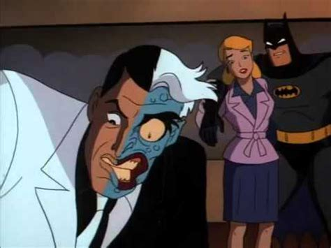 Batman Animated Series Two Face Quotes