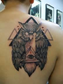 Illuminati Owl Tattoo Designs