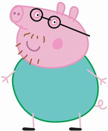 Pig Peppa Daddy Transparent Clipart Mummy George