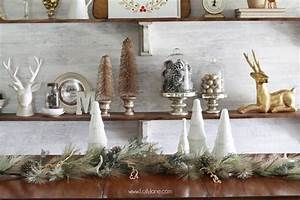 How, To, Decorate, Shelves, For, Christmas