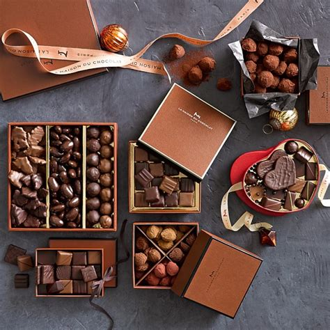 maison du chocolat la maison du chocolat assorted chocolates williams sonoma