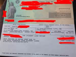 What Does a Check Look Like From the IRS