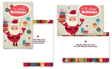 Birthday Card Template Indesign