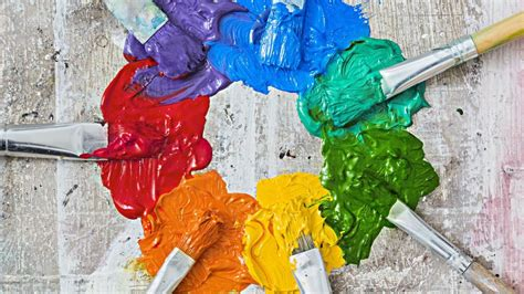 what is a paint color mixing chart reference