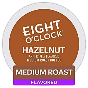 A light roast with a mild, satisfying flavor. Amazon.com: Eight O'Clock Coffee Hazelnut Keurig Single-Serve K-Cup Pods, 12 Count: Prime Pantry