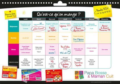 conseil 1 organiser les menus de la semaine ou les tribulations d une picard addict paperblog