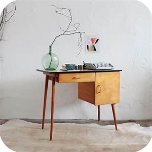 D227mobilier Vintage Bureau Enfant B Atelier Du Petit Parc