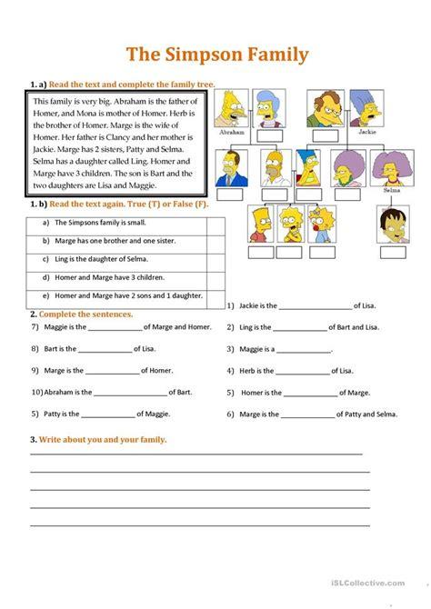 family tree quiz worksheet family worksheet