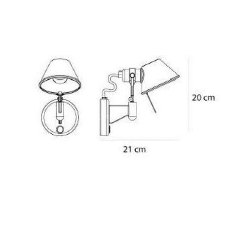 tolomeo applique applique tolomeo micro inter plan dimensions artemide
