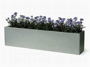 Fabriquer Grande Jardiniere Beton : jardini re rectangulaire en fibre et r sine 125 99 ~ Melissatoandfro.com Idées de Décoration