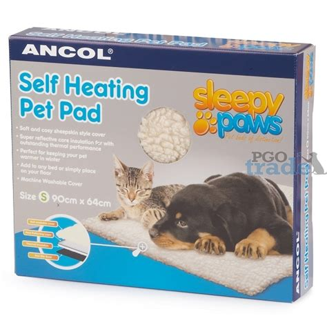 Self Heating Cat Bed by Ancol Small Self Heating Pet Pad Pgo Trade Uk Ltd