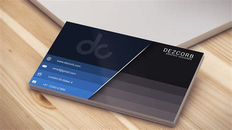 Business Card Design In Photoshop Cs6 Business Cards Templates Microsoft Word 2010 Size Card Template Psd Font In And Resolution Unique Designs Bleed