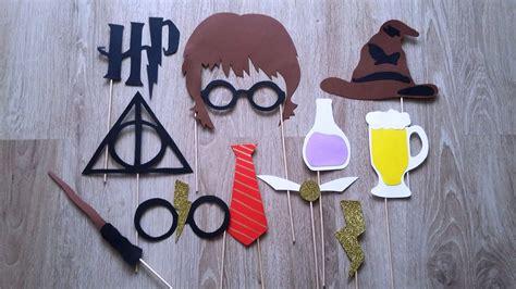 accessoires photobooth   harry potter autres