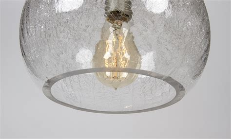 Crackle Pendant Light Fixture ? Bubble   Dan Cordero