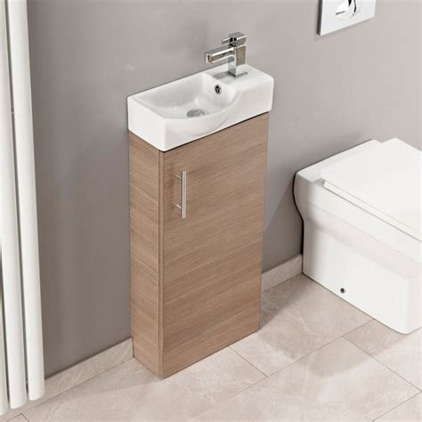 toilet and basin unit maisie 400mm cloakroom vanity unit with oversized basin