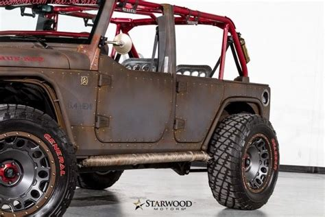 sema jeep for sale 2015 jeep wrangler 2015 starwood sema for sale