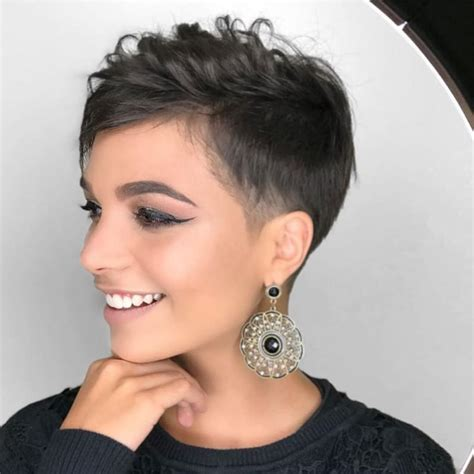 This pixie cut with layers provides a this hairstyle can be done on any hair type except curly hair. 10 Stylish Feminine Pixie Haircuts, Short Hair Styles 2020 for Female