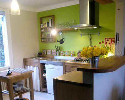 deco cuisine vert decoration cuisine vert anis