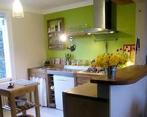 Deco Vert Anis : decoration cuisine vert anis ~ Teatrodelosmanantiales.com Idées de Décoration