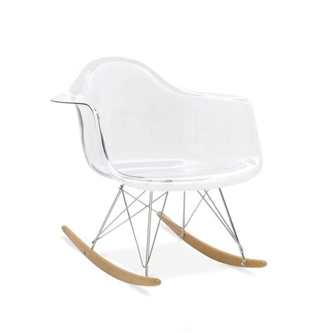 chaise a bascule design iconic designs flair chaise à bascule rar rocking chair