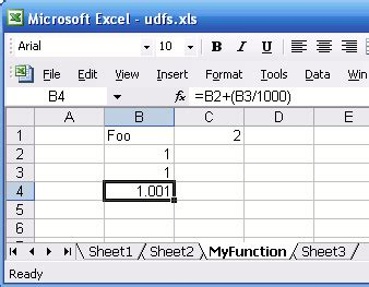 defining excel functions without visual basic by