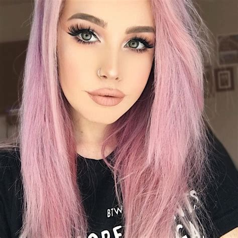 Pastel Pink Hair Color Pink Hair Hair Color Pink Hair