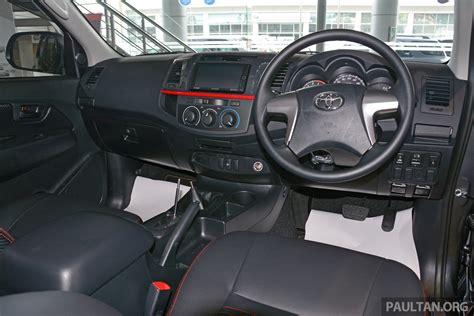GALLERY: 2015 Toyota Hilux TRD Sportivo – more aggressive ...