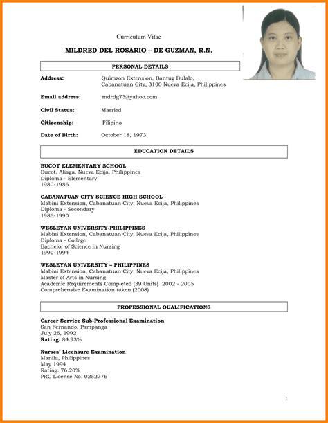 halimbawa ng bionote philippin news collections
