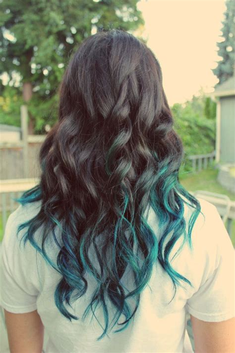 Best 25 Blue Tips Ideas On Pinterest Colored Hair Tips