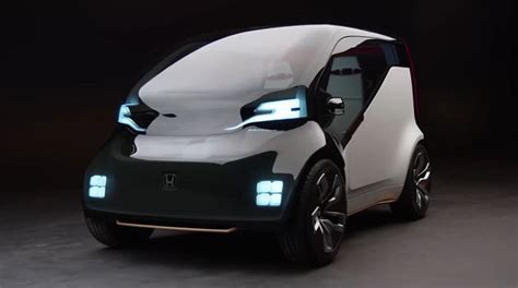 Top 5 Future Electric Cars At Ces 2017  Honda Neuv