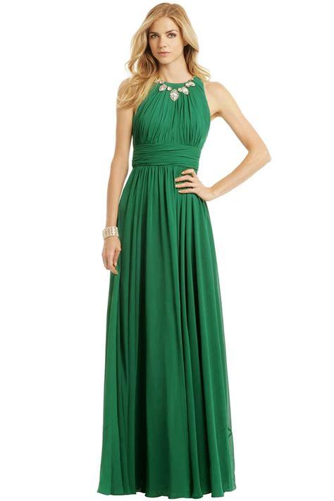 fluorite emerald gala gown green cobalt  rent  runway