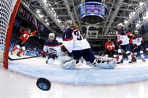 Winter Olympics Women's Ice Hockey: U.S. and Canada ...