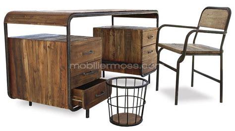 mobilier bureau industriel mobilier style industriel vintage pas cher