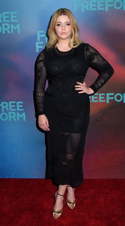 Sasha Pieterse at Freeform Upfront in New York 4/19/2017 ...