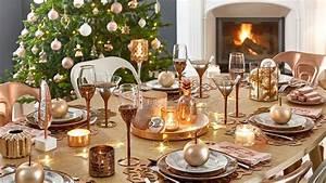 Table De Fete Decoration Noel : une jolie d co pour no l justine huette cr atrice de ~ Zukunftsfamilie.com Idées de Décoration