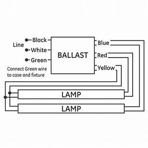 4 Best Images Of T12 Electronic Ballast Wiring Diagram