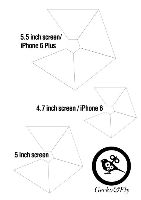 diy  hologram template  smartphone created