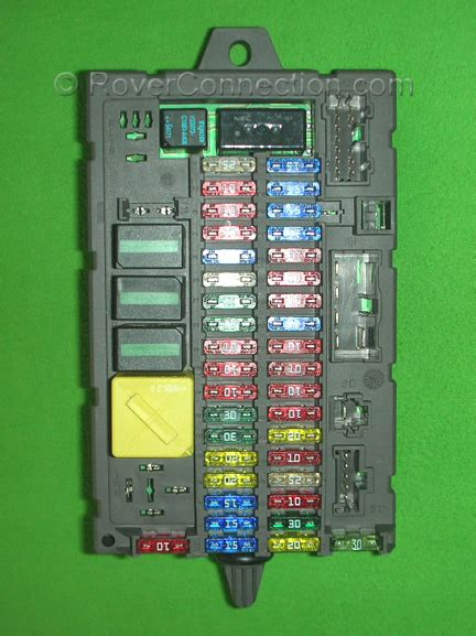 Land Rover Fuse Box Location by Where Exactly Is The Passenger Side Fuse Box In A 2001