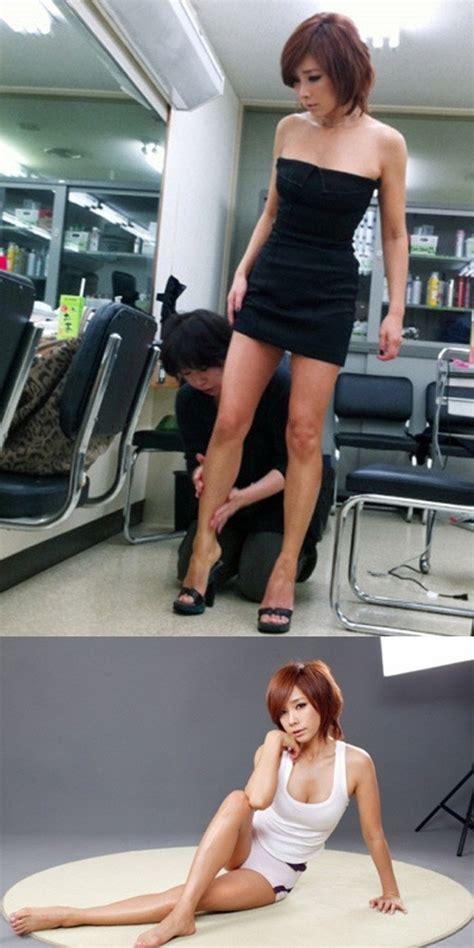 서울신문 '50이 코 앞인데 정다연 초미니로 섹시건강미 과시
