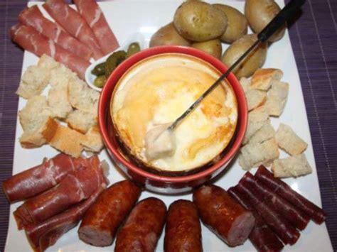 recettes de mont d or et fondues