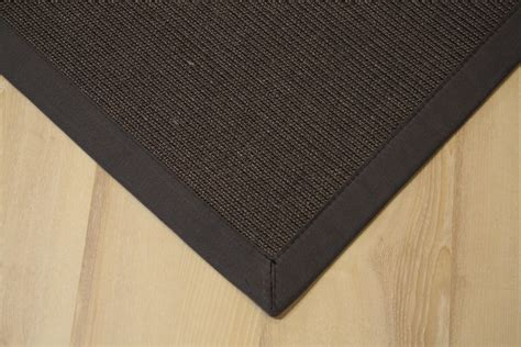 joop teppiche sisal carpet manaus with border anthracite 60x90 cm 100