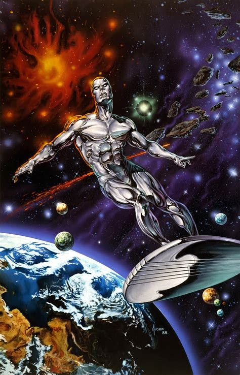 marvel comics     anatomy   cover silver surfer judgment day