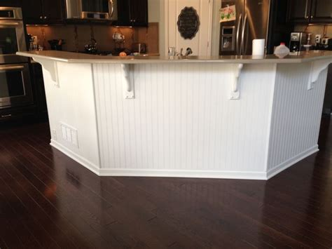 bead board  kitchen island wooden kitchen floor