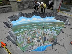 Breathtaking 3d Street Art - 3d Chalk Art