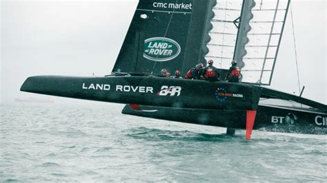 racing academy 2 ben ainslie racing coupe de l 39 america land rover bar