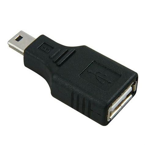 usb 2 0 type a to type b mini usb adapter ebay