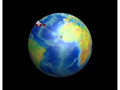 Coriolis Effect Earth Animation Currents Hurricane Ocean
