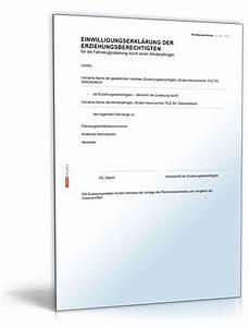 Einverständniserklärung Zur Einsichtnahme In Die Personalakte : einwilligungserkl rung zulassung kfz muster zum download ~ Themetempest.com Abrechnung