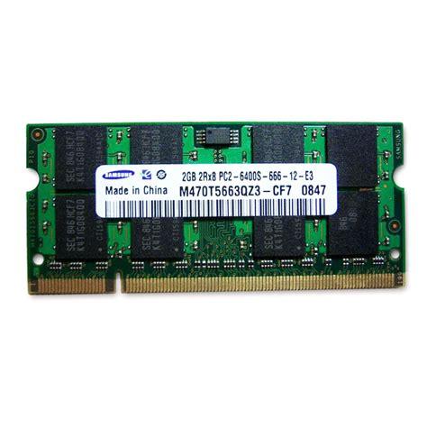 Samsung 2gb Ddr2 Ram 800mhz Pc26400 200pin Laptop Sodimm