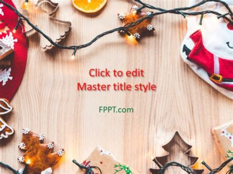 christmas time powerpoint template  powerpoint